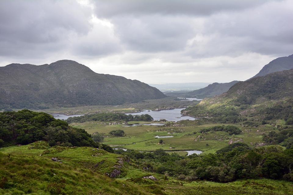 Landscape, Ireland, Killarney, National Park, Nature