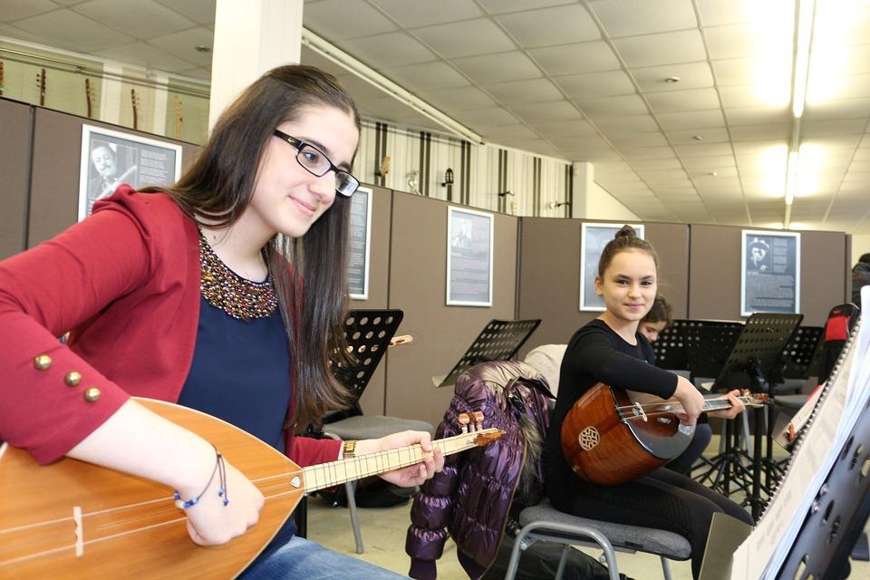 Girl, Reed, Music, National, Instrument, Turkish