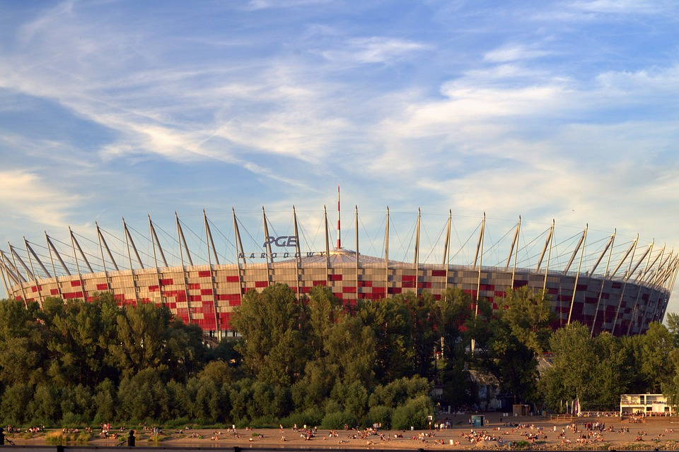National Stadium, Warsaw, Poland, Football, Sport