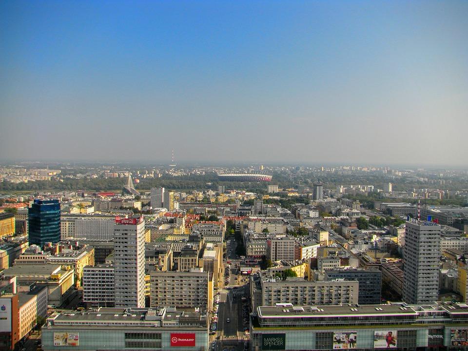 Warsaw, National Stadium, Football, Stadion, Sport