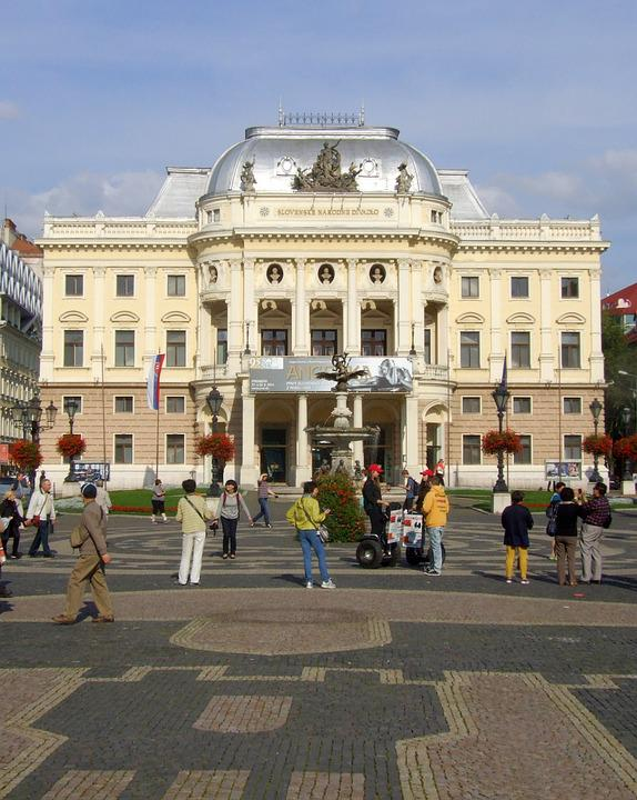Bratislava, Slovakia, National Theatre, Architecture