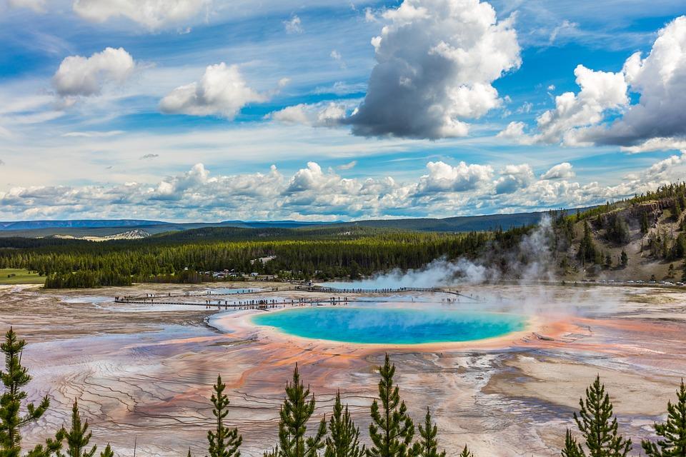 Yellowstone, Landscape, Travel, Nature, Nationalpark