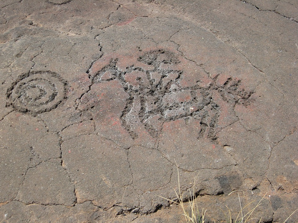 Petroglyphs, Symbols, Native American, Rocks