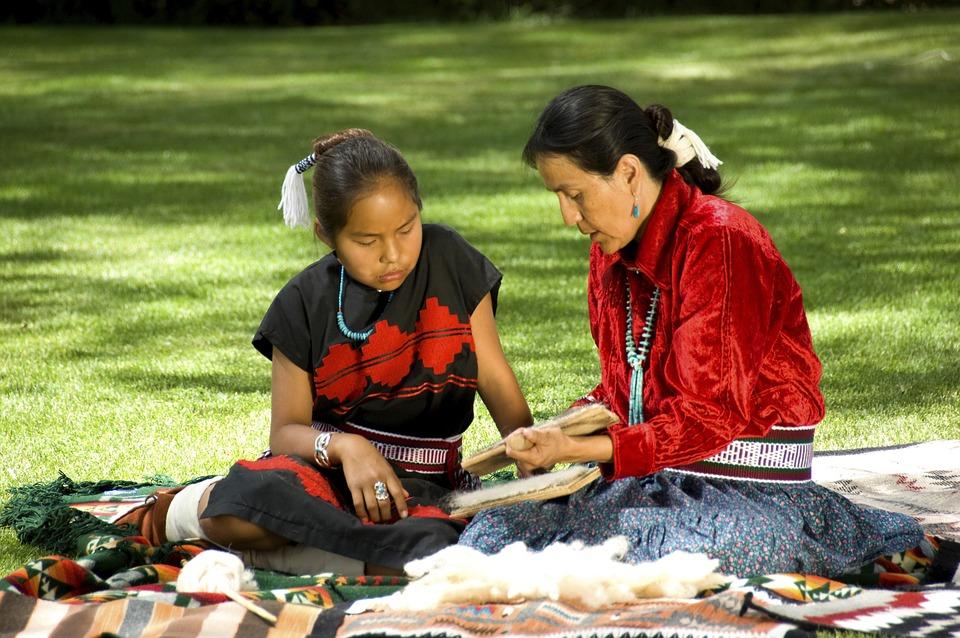 Navajo, Elder, Elderly, American, Female, Woman, Native