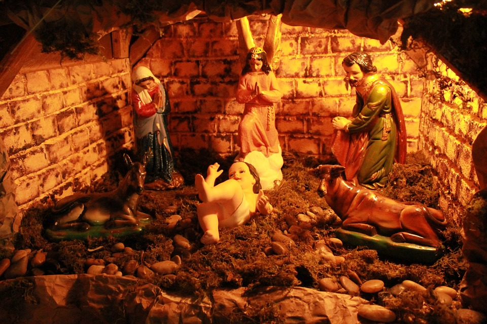Free photo Nativity Jesus Christmas Church Scene - Max Pixel