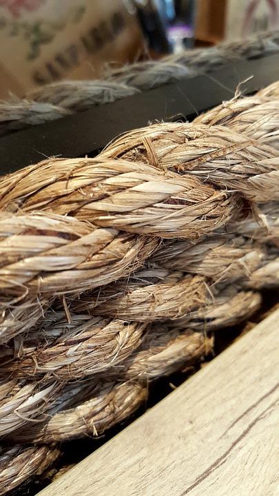 Rope, Wooden, Natural, Symbol, Board, Summer, Wood