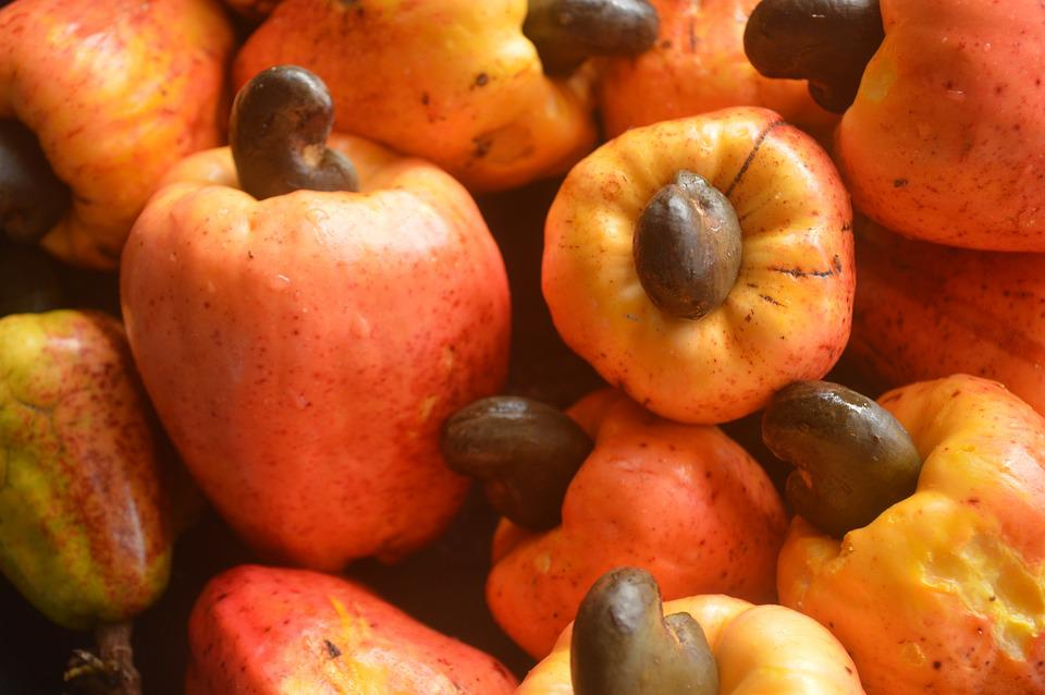 Fruits, Cashew Apple, Food, Organic, Tropical, Natural