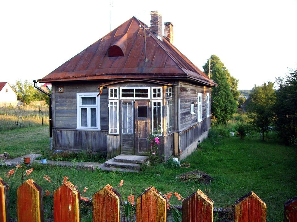 Bialowieza, Natural, House, Green