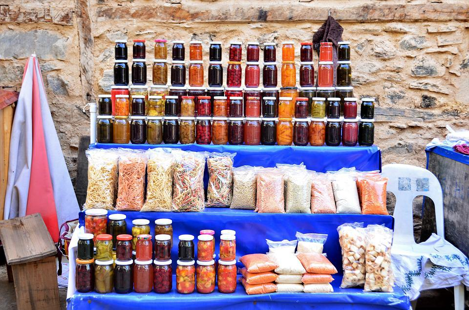 Natural, Organic, Food, Macro, Close, Turkey, Red