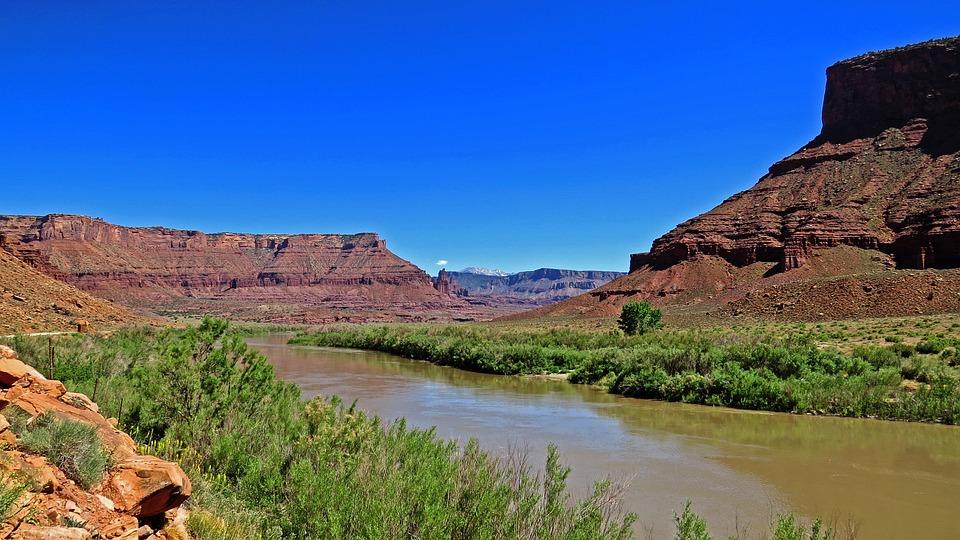 Colorado, River, Scenic, Landscape, Natural, Southwest
