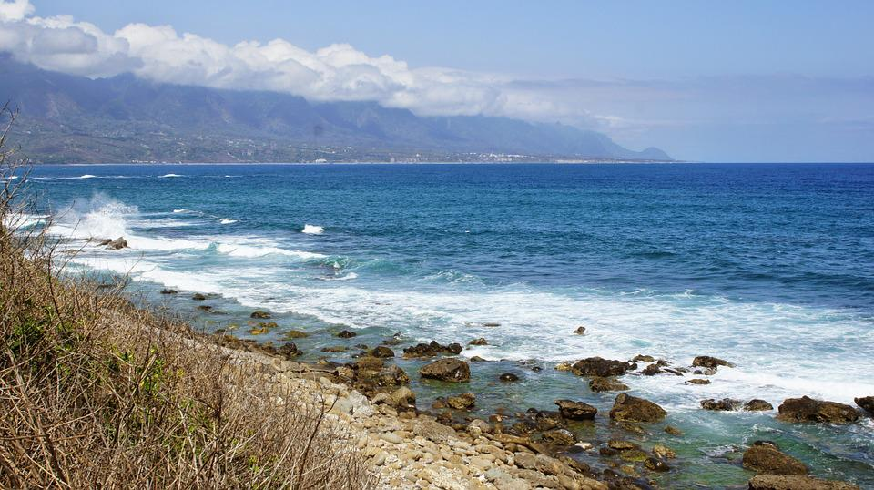 Sea, Coast, Hai Bian, Natural