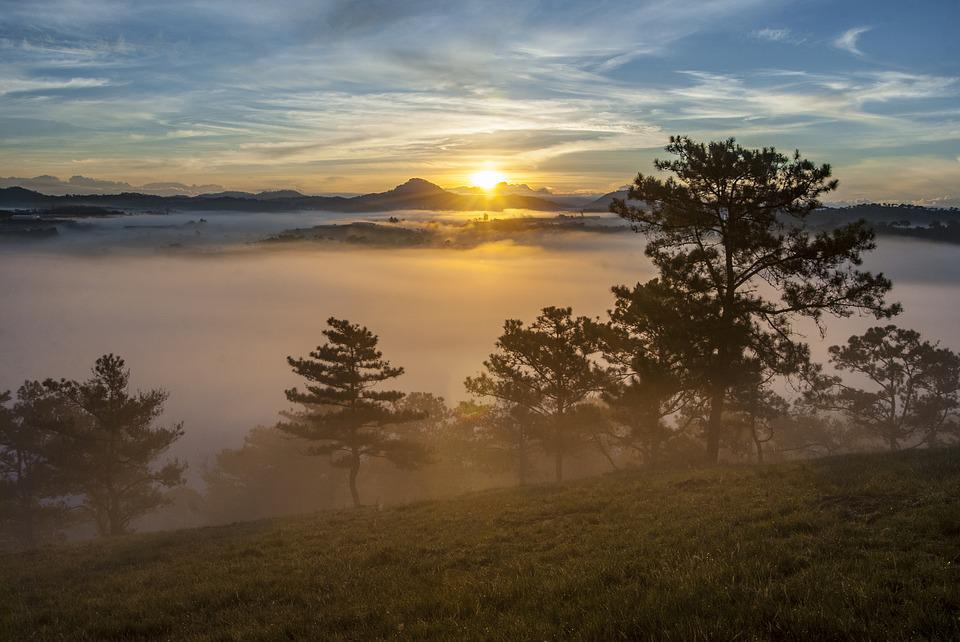 Scenery, Dawn, Photography, Natural, The Morning