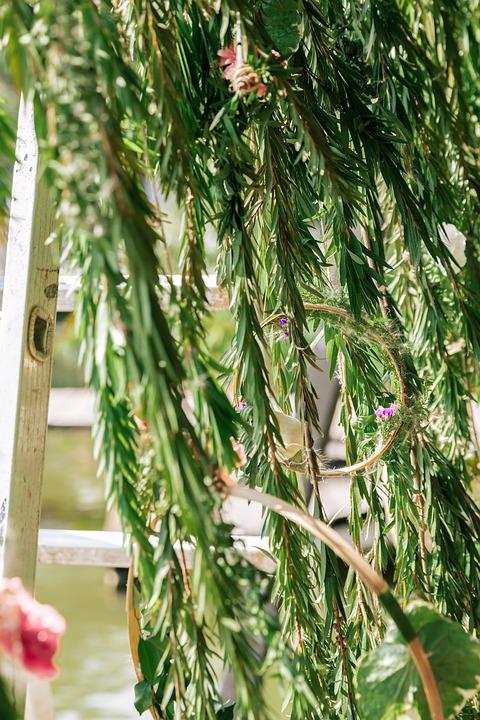 Wedding, Beautiful, Natural, Flower Leaves, Vietnam