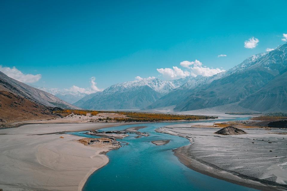 Natural Water, Landscape, Mountain Landscape