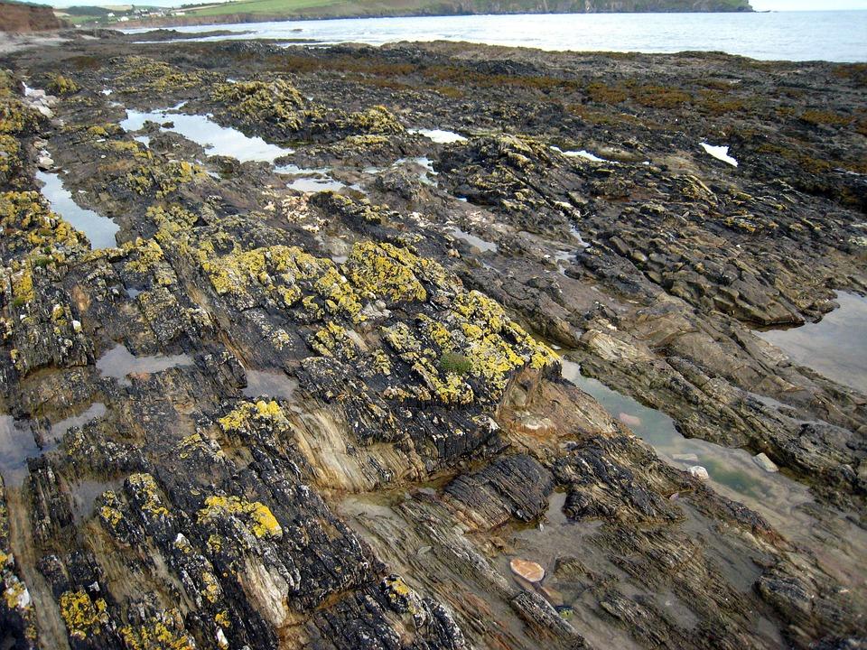 Rocks, Sea, Natural, Water