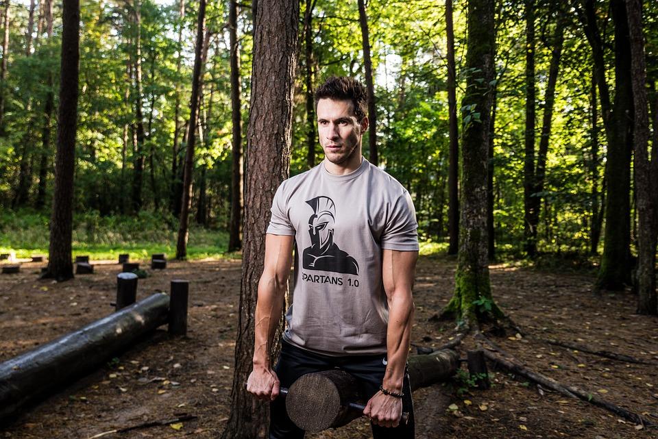 Wood, Outdoors, Tree, Nature, People, Man, Adult
