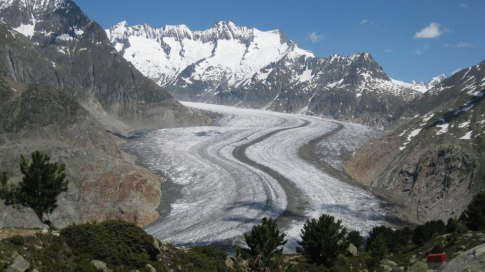 Mountains, Nature, Landscape, Panorama, Glacier, Alpine
