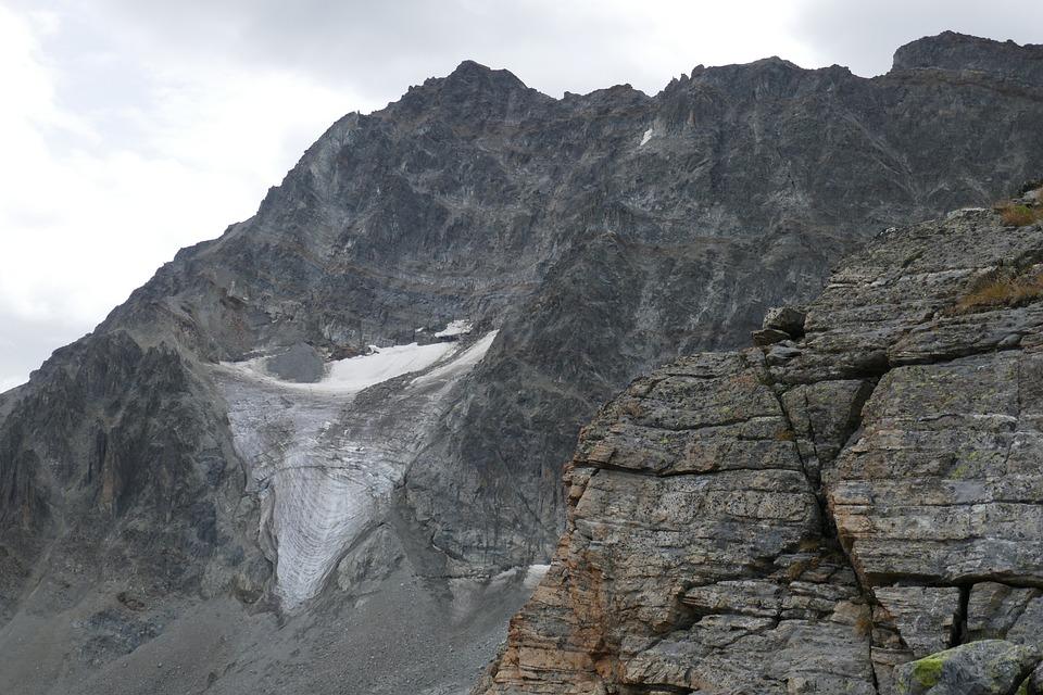Glacier, Mountains, Alpine, Switzerland, Nature, Snow