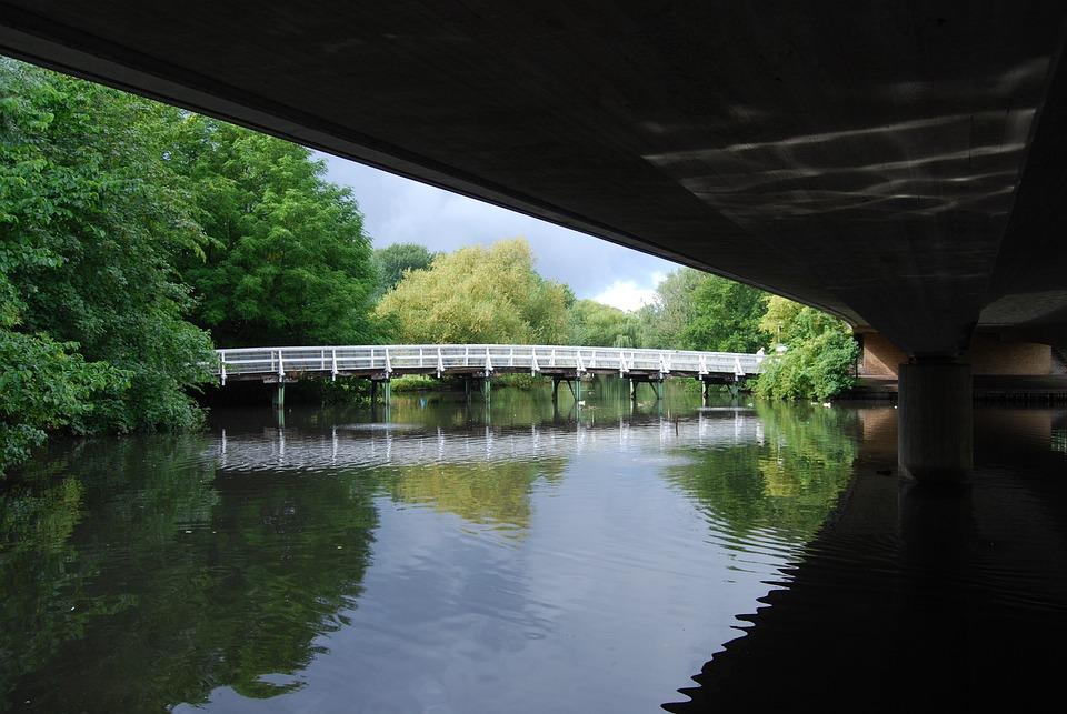 Bridge, Atmosphere, Nature