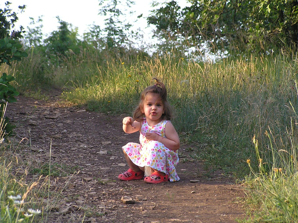 Balatonfüred, Little Girl, Nature