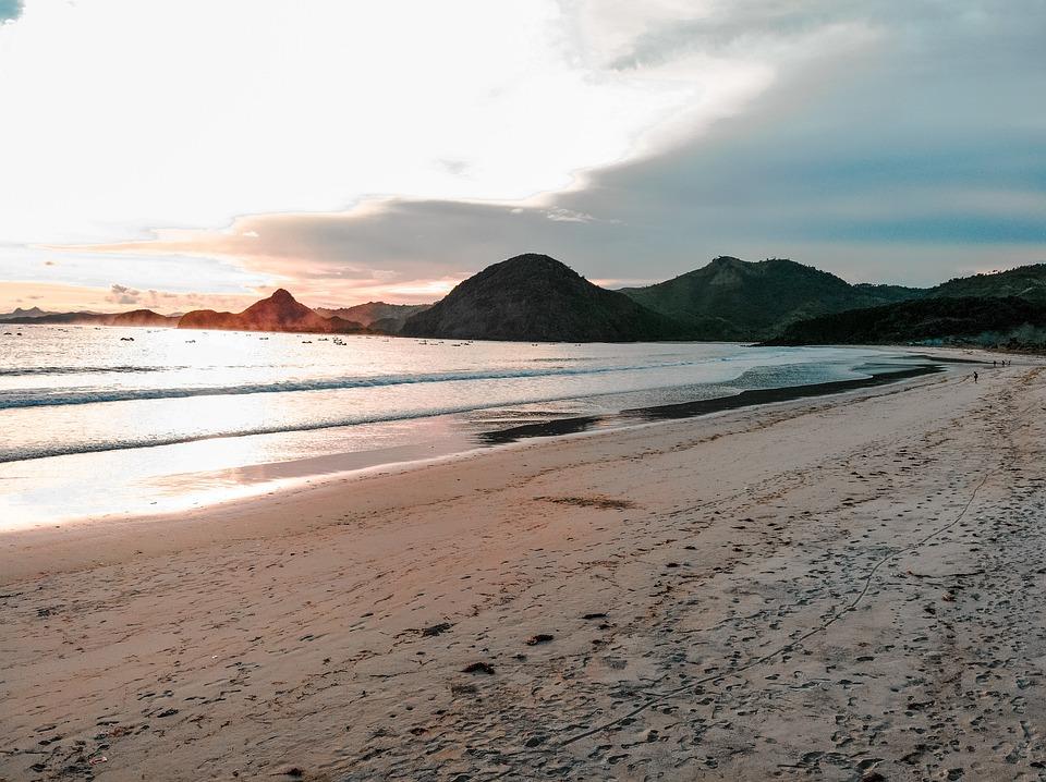Lombok, Beach, Indonesia, Landscape, Nature, Bali, Sea