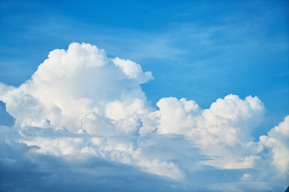 Cloud Types Chart: Free photo Space Image Clouds Weather White Blue Sky Air - Max Pixel,Chart
