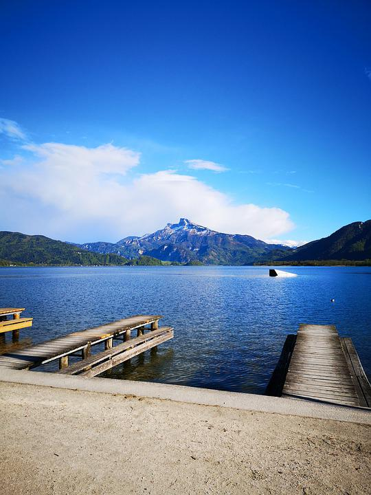 Lake, Water, Blue Sky, Nature, Summer, Rest, Vacations