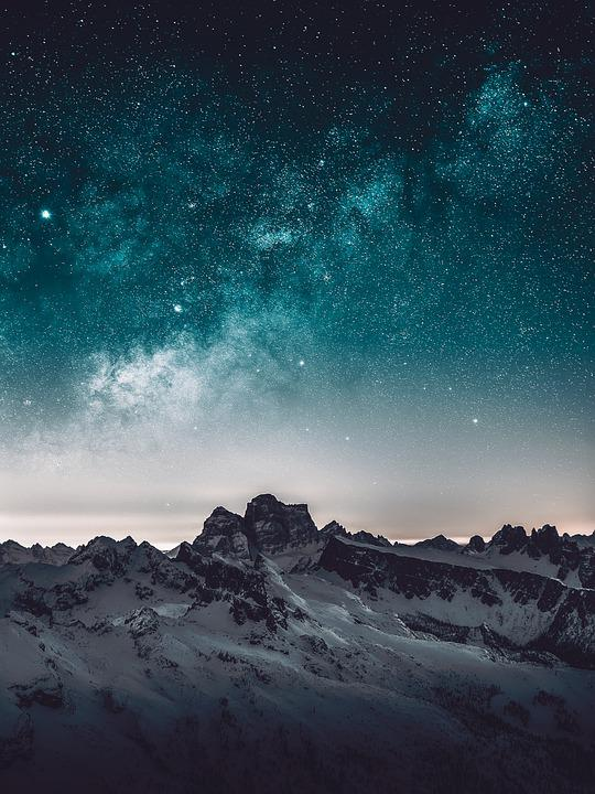 Sky, Star, Blue, Space, Nature, Atmosphere, Galaxy