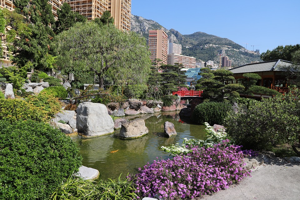 Body Of Water, Garden, Nature, Architecture, Summer