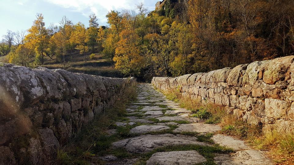 Nature, Fall, Outdoor, Landscape, Pierre, Bridge