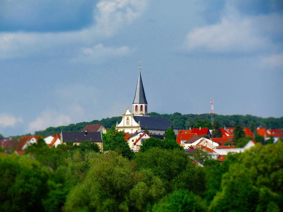 Church, Buildings, Nature, Tree, Landscape