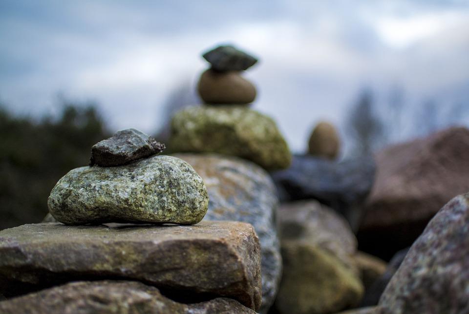 Stones, Meditation, Calm, Balance, Nature, Yoga