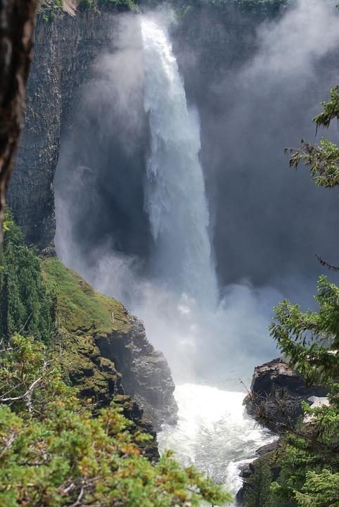 Canada, Waterfall, Places Of Interest, Nature