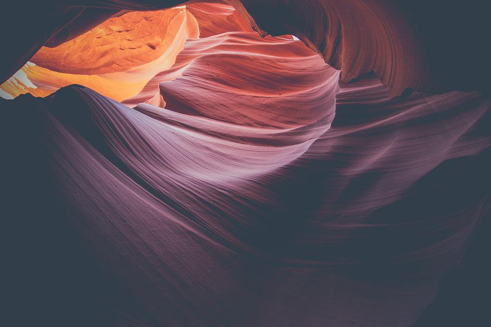 Canyon, Antelope Canyon, Sandstone, Nature, Texture