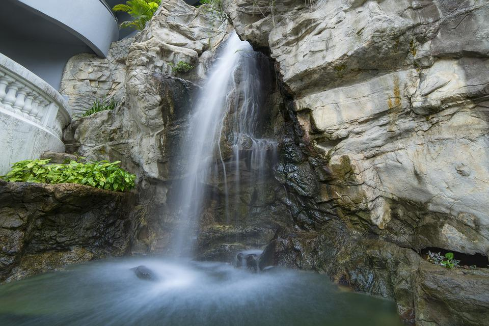 Falls, Waters, River, Nature, Flow, Cascade, Rock, Wet