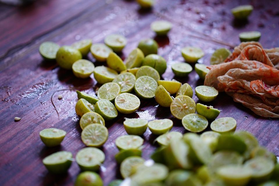 Lemon - Fruit, Juice, Table, Close-up, Nature