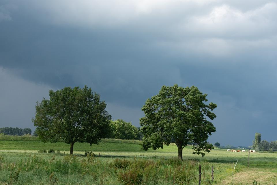 Nature, Landscape, Air, Clouds