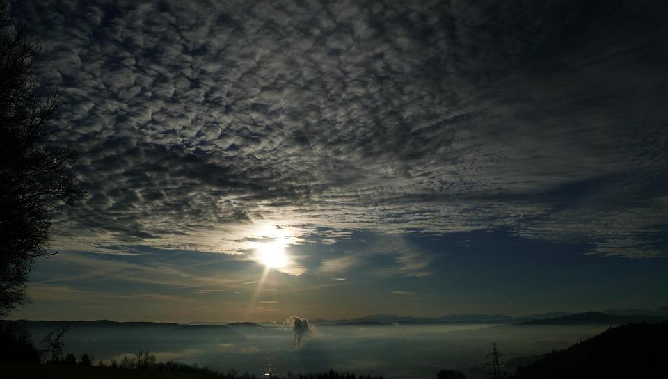 Sun, Clouds, Nature, Sky, Sunrise