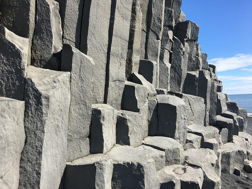 Stone, Iceland, Columns, Nature, Rock, Outdoor