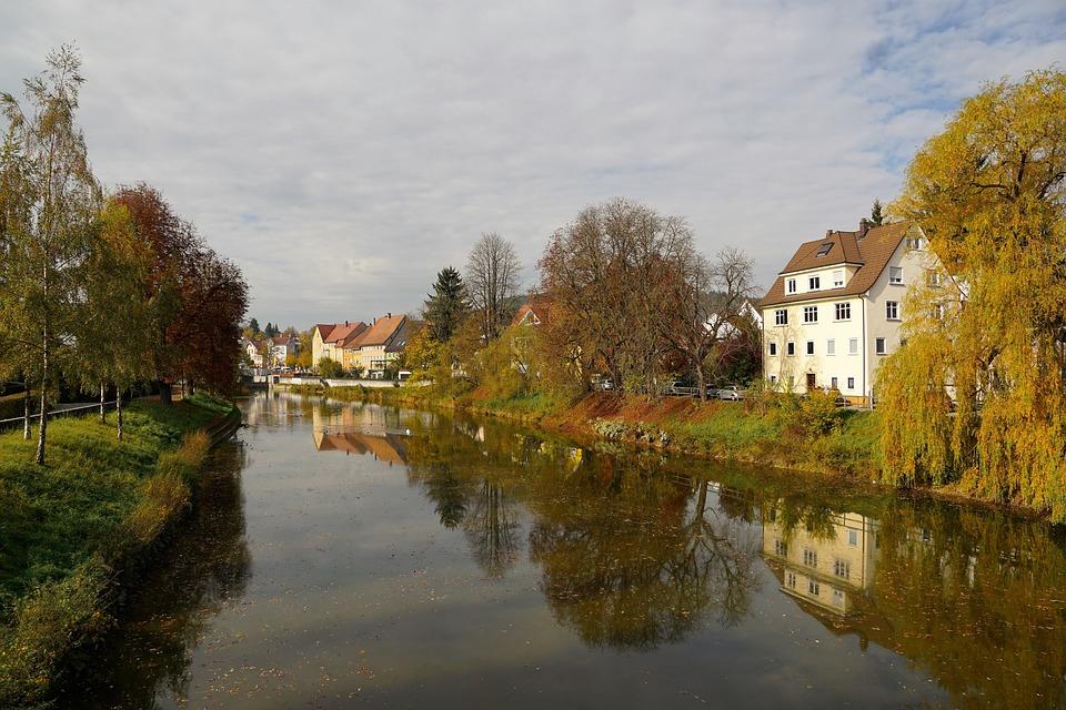 Autumn, Danube, Nature, River, Tuttlingen