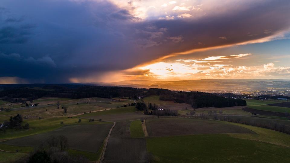 Nature, Panorama, Sky, Landscape, Sunset, Dawn, Dusk