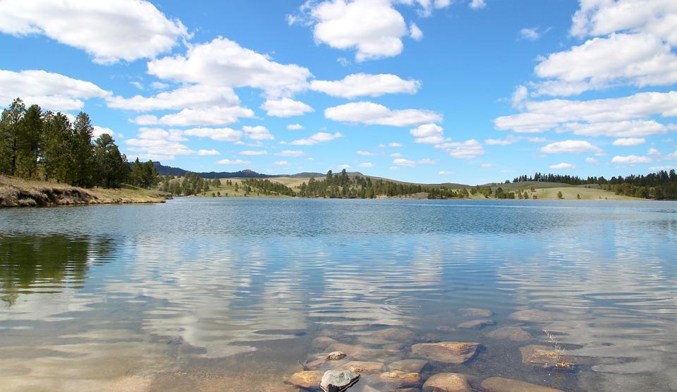 Deerfield Lake, South Dakota, Water, Nature, Lake