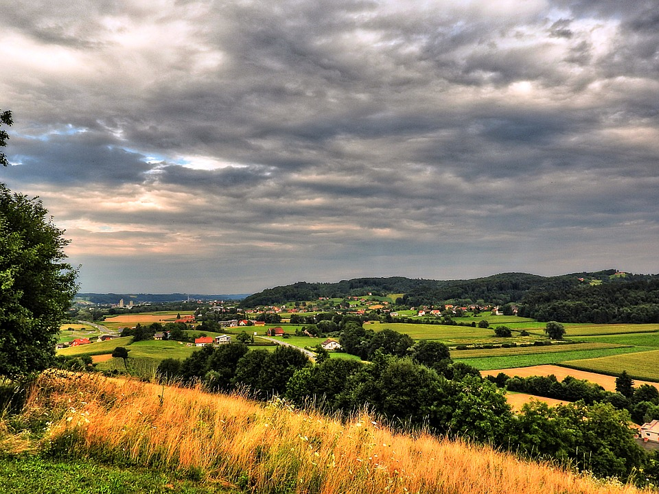 Landscape, Outlook, Distant View, View, Nature, Hill
