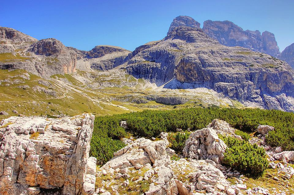 Cengia Alpe, Dolomites, Mountains, Landscape, Nature