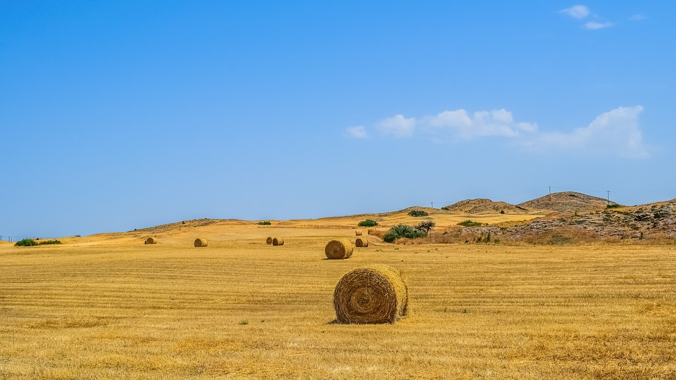 Landscape, Dry, Sky, Hill, Nature, Countryside