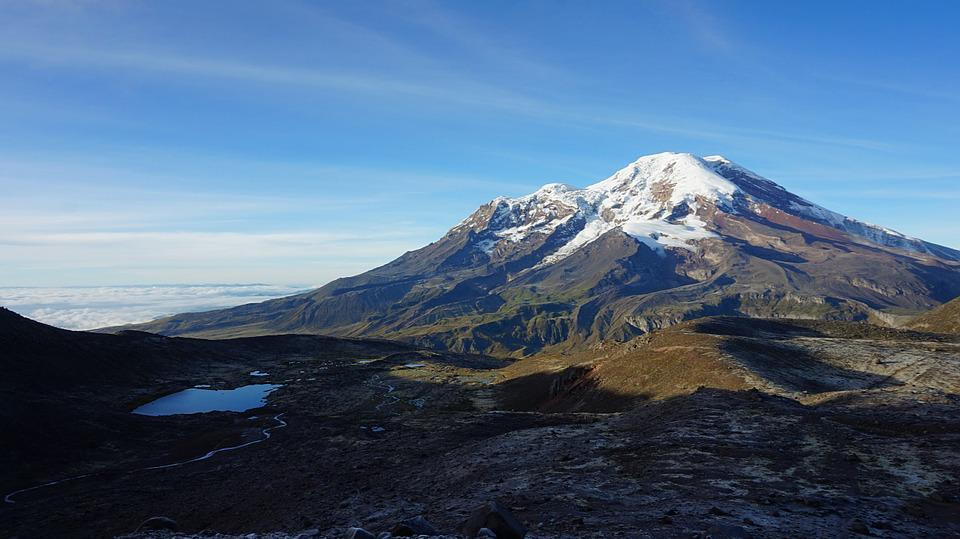 Nature, Mountain, Ecuador, Chimborazo, Landscape