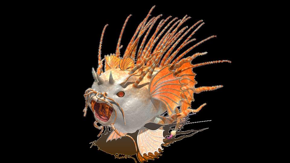Fish, Creature, Animal, Nature, Meeresbewohner