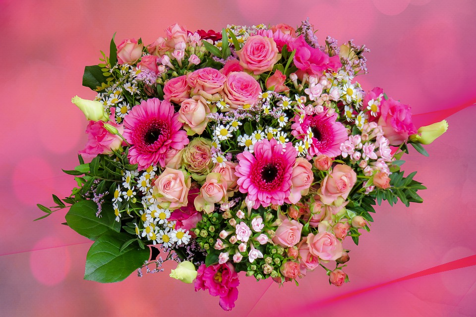 Free photo Nature Floral Greeting Thank You Bouquet Flower - Max Pixel
