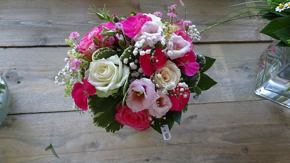 Flower Arrangement, Flowers, Nature