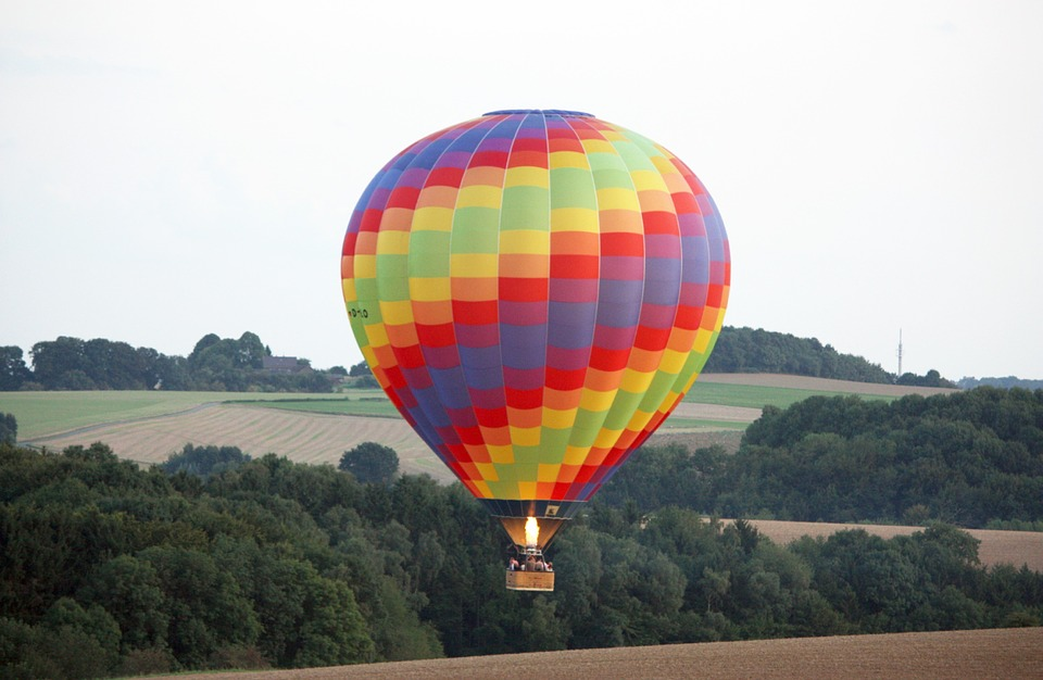 Hot Air Balloon, Take Off, Float, Fly, Balloon, Nature